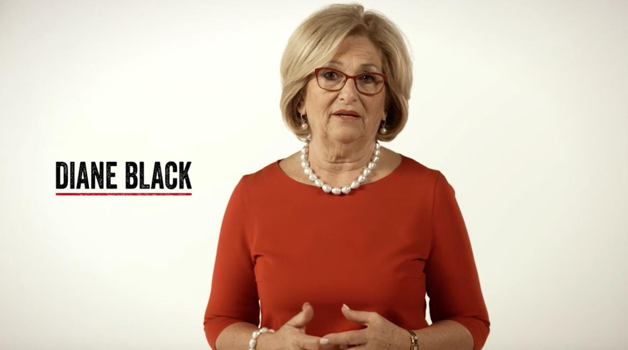 Diane Black announces campaign for Governor