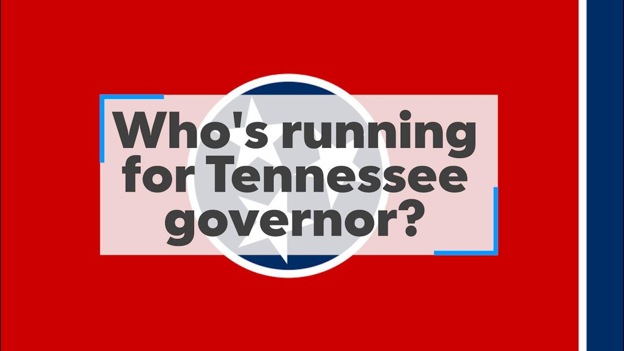 Tennessee 2018 governor's race: Who's running