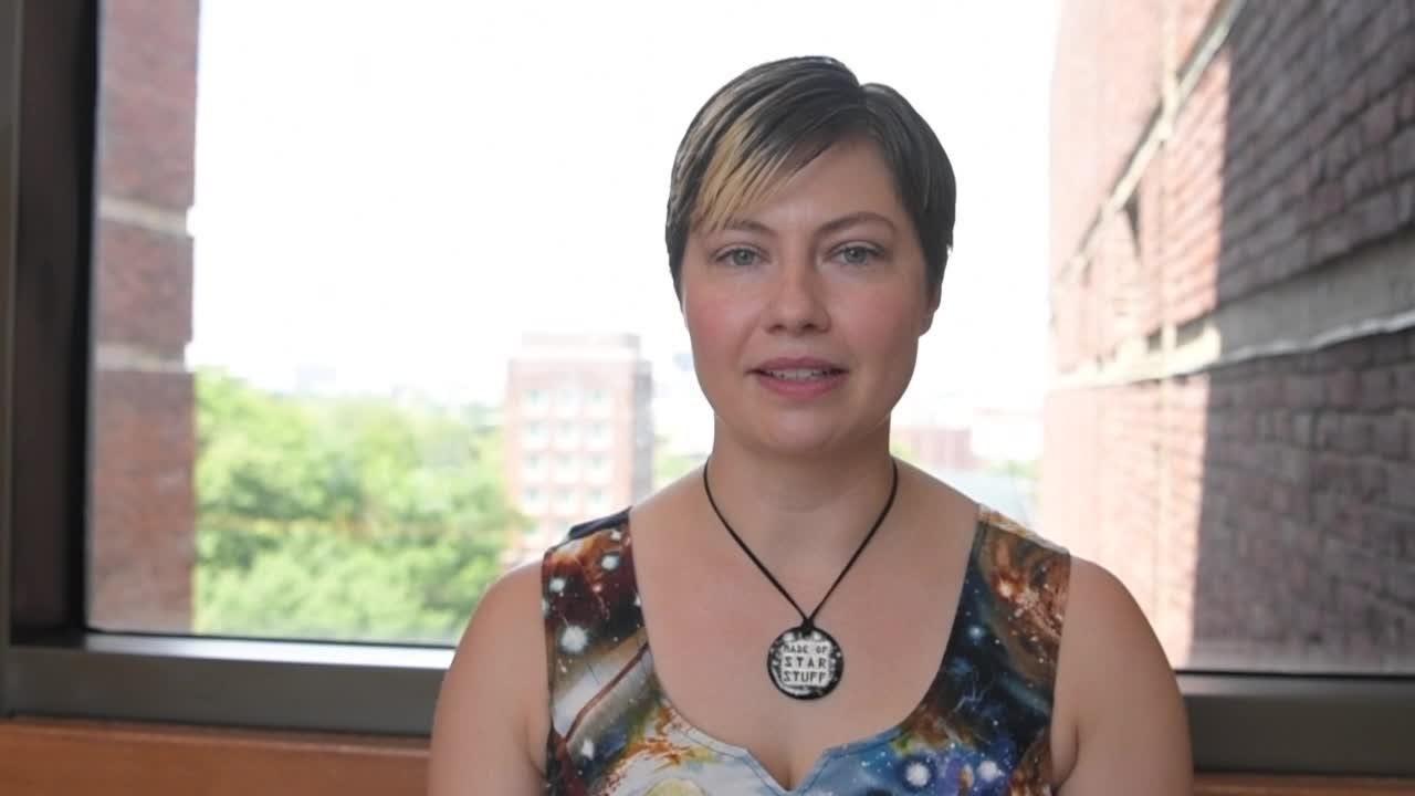 Vanderbilt astrophysicist Natalie Hinkel