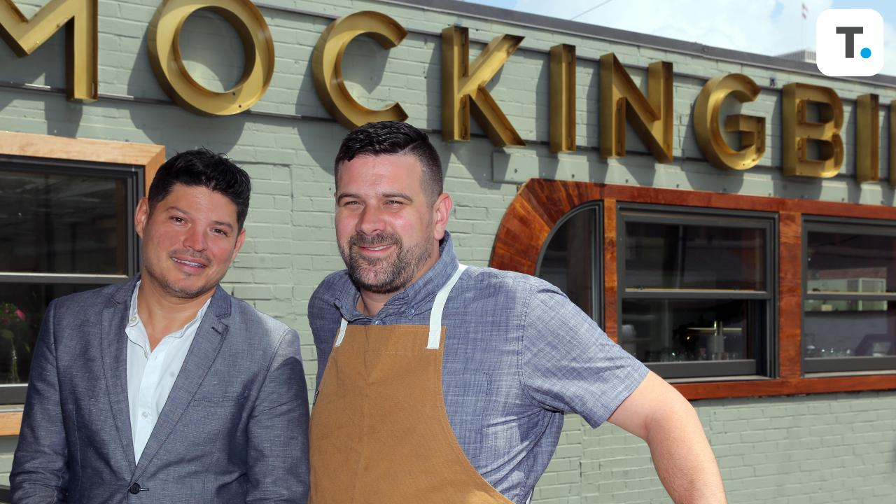 Brian Riggenbach and Mikey Corona, partners at the Mockingbird, talk about the restaurant.