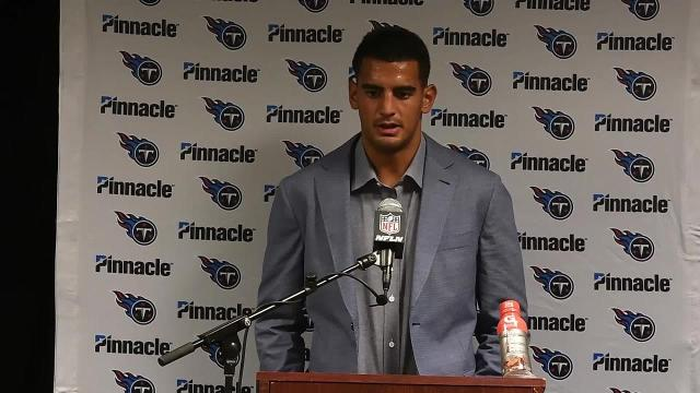 Mariota, Mularkey on Titans' loss to Jets