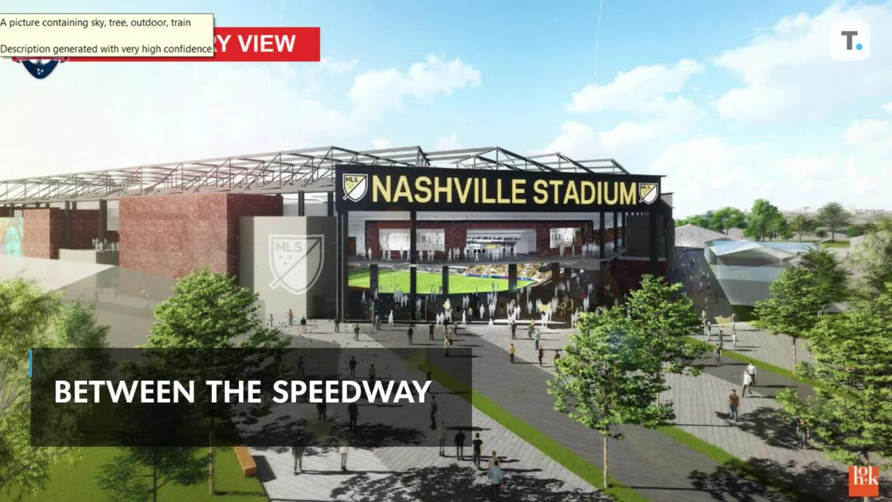 Plans for Nashville MLS Stadium Revealed