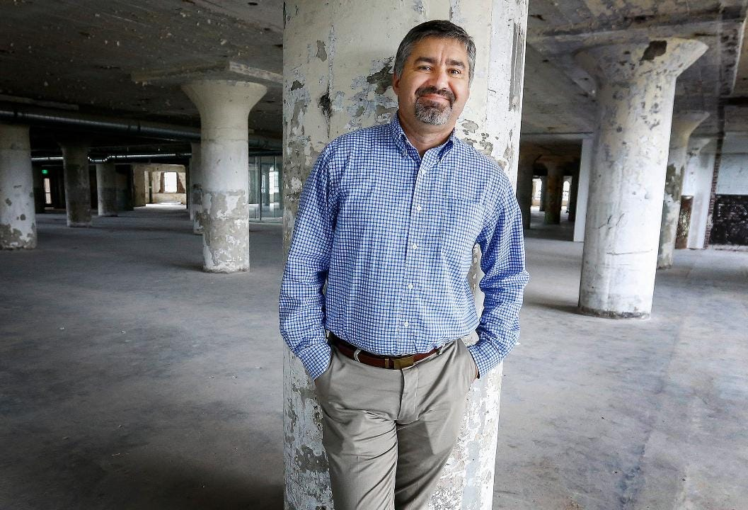 Chris Terrill, the Executive Director of the Crosstown High that will open next year in the Crosstown Concours, recently won a $2.5 million grant from XQ The Super School Project.