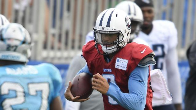 Titans Panthers Mularkey Mariota