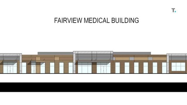 Site work has begun along Fairview Boulevard for a new TriStar medical building.