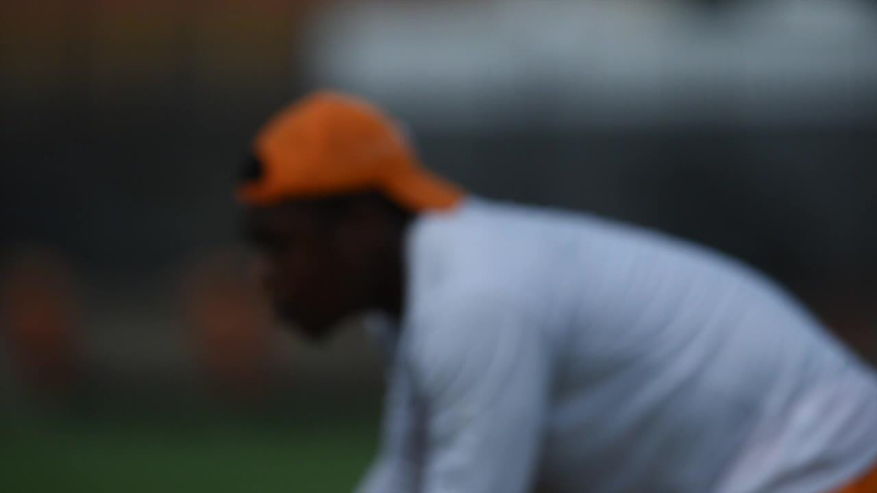 Clips from Vols practice August 18