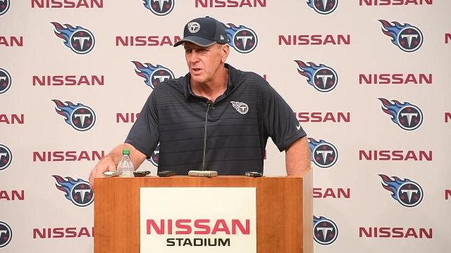 Titans vs. Panthers: Mularkey pleased with improvement