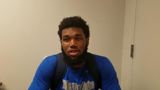 New Memphis F Mike Parks Jr. describes how he'll fit in with the Tigers