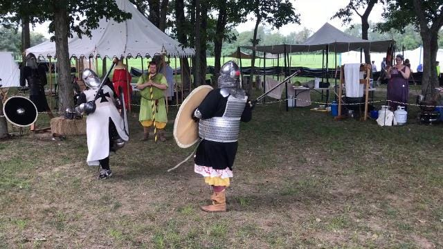 The Mid-South Renaissance Faire at USA Stadium in Millington