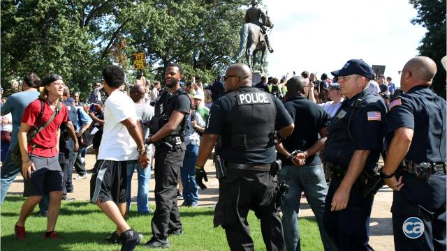 Memphis attorney rips charge against Confederate statue protester