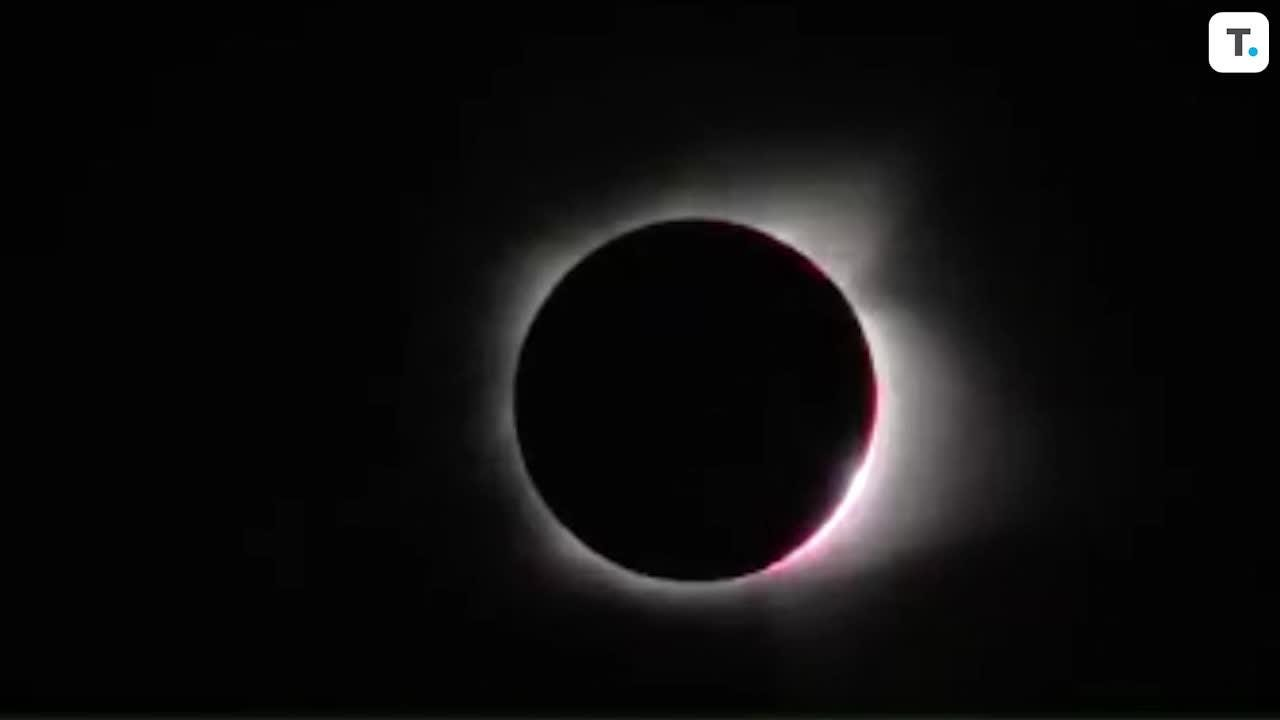 Here's what the total solar eclipse looked like in Nashville