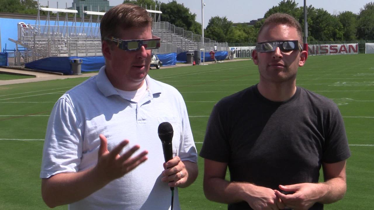 Rexrode and Vingan discuss Titans' 2017 eclipse viewing