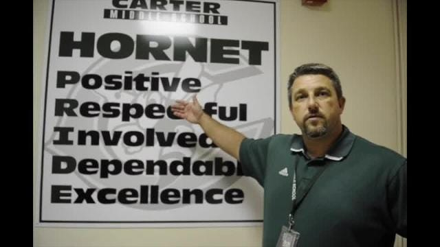 What is HORNET at Carter Middle School?