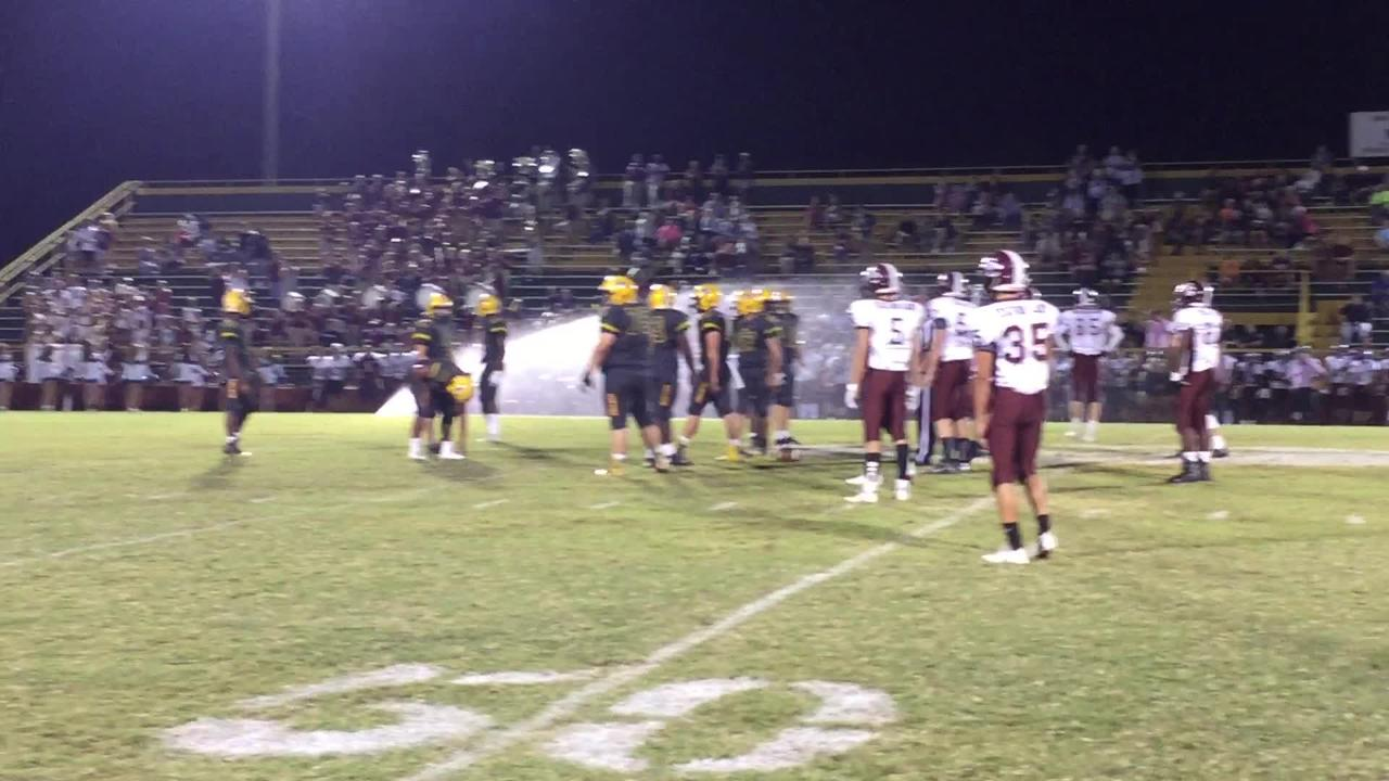 Sprinklers interrupt Gallatin/Station Camp football game