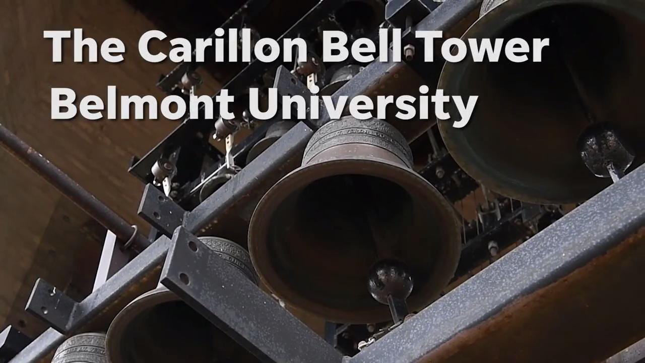 Dr. Richard Shadinger talks about how to play the carillon in the Belmont Bell Tower.