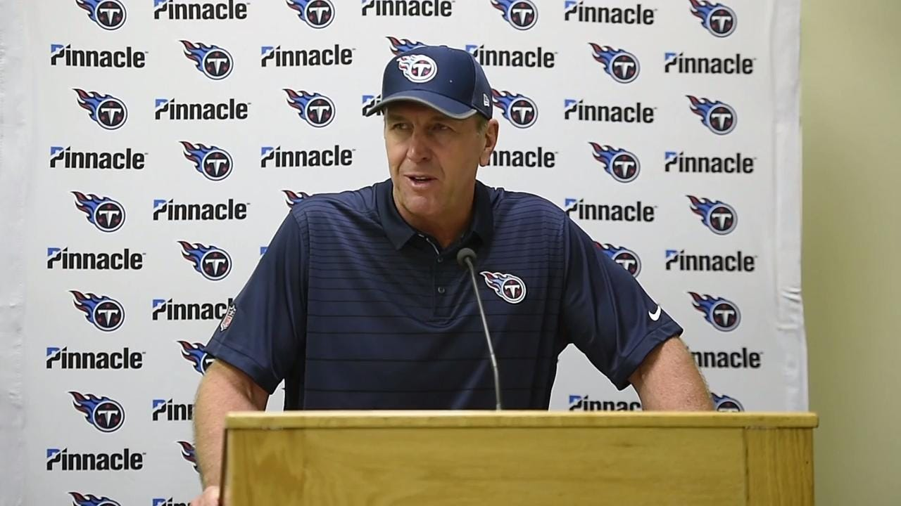 Titans vs Chiefs: Mike Mularkey on the loss