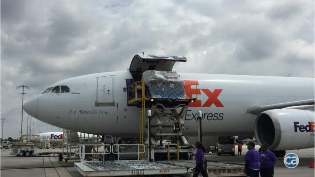Thank Q Fedex Airlifts Barbecue To Irma Victims In Florida Keys