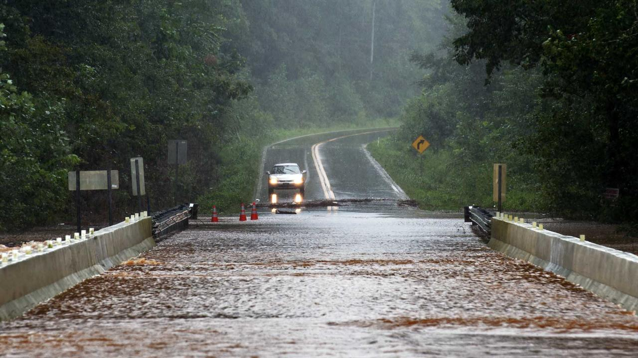 Flooding in Robertson County
