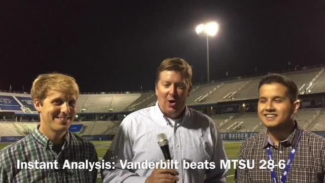 Instant analysis: Vanderbilt beats MTSU 28-6