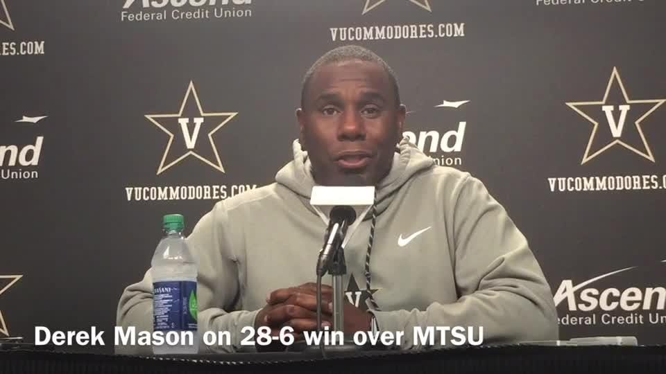 Derek Mason saw flaws in win over MTSU