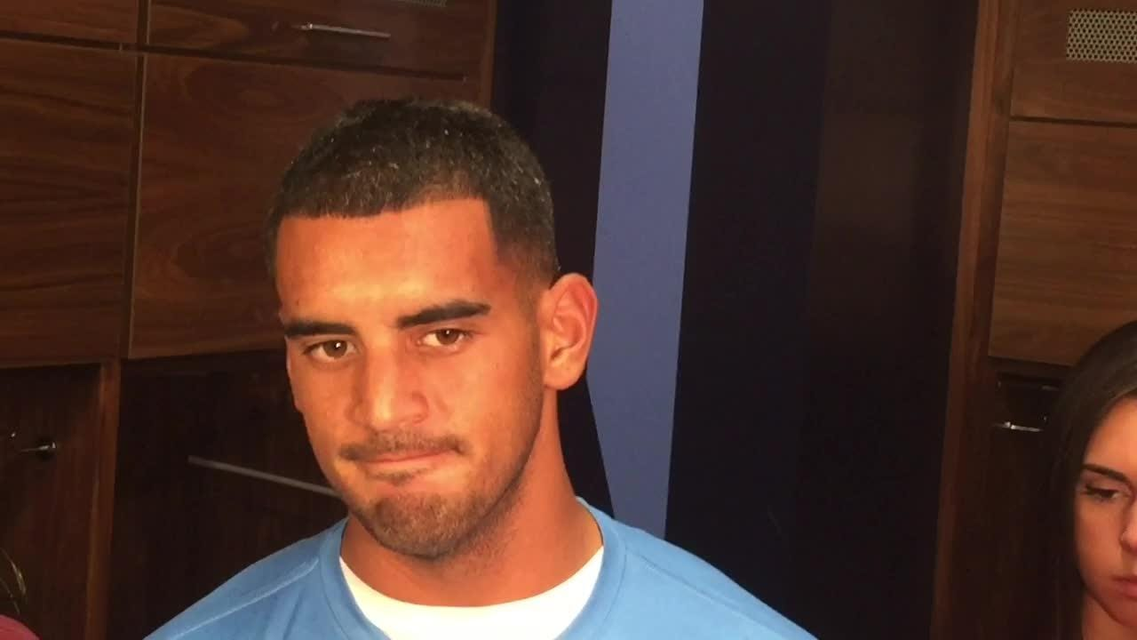 Marcus Mariota: 'Crazy' to oppose Derek Carr in opener