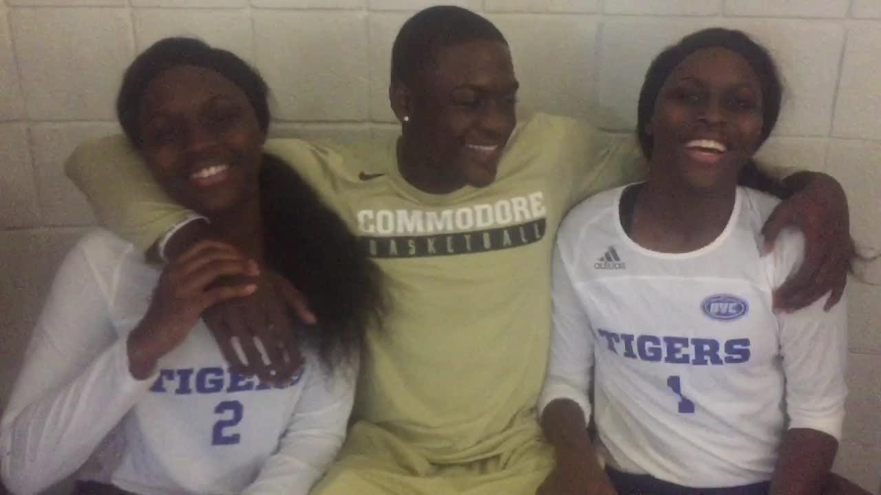 Triplets stay close thanks to Vanderbilt basketball and Tennessee State volleyball teams