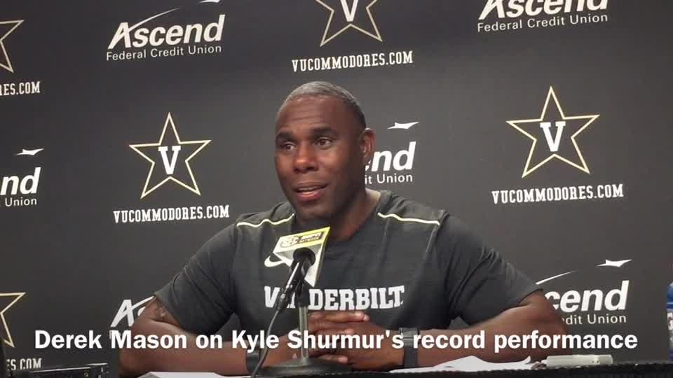 Kyle Shurmur sets Vandy passing record