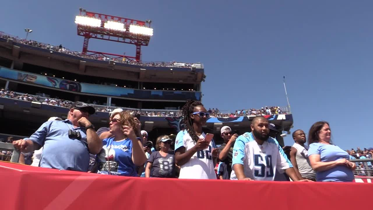 Titans open NFL season with fanfare and Raiders