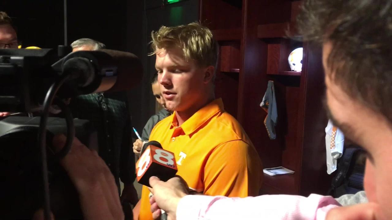 Ethan Wolf: Vols take confidence, momentum into Florida game