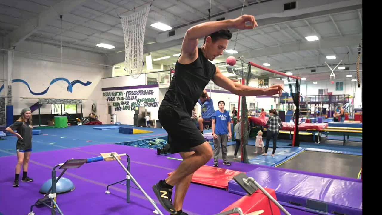 Franklin resident Travis Rosen competes in his 8th year as a American Ninja Warrior contestant.