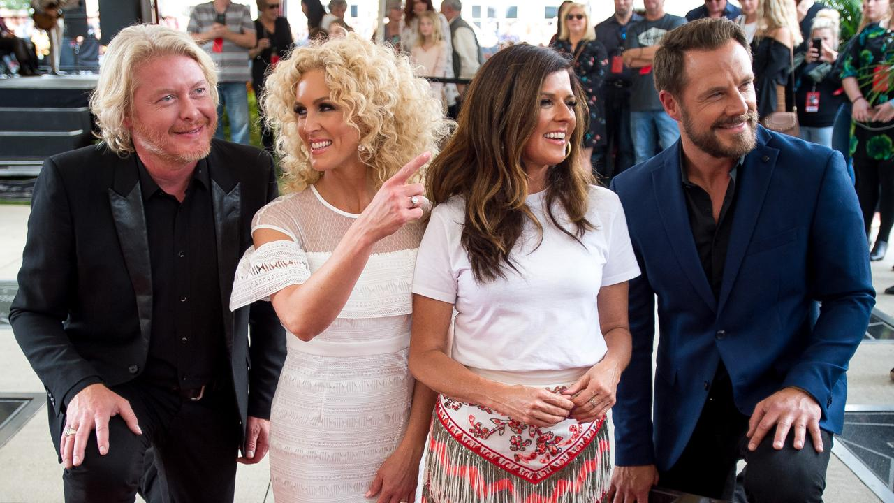 Little Big Town inducted into the Music City Walk of Fame