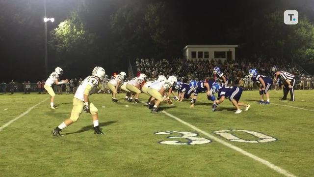 White House eeks by Springfield in 16-14 win.