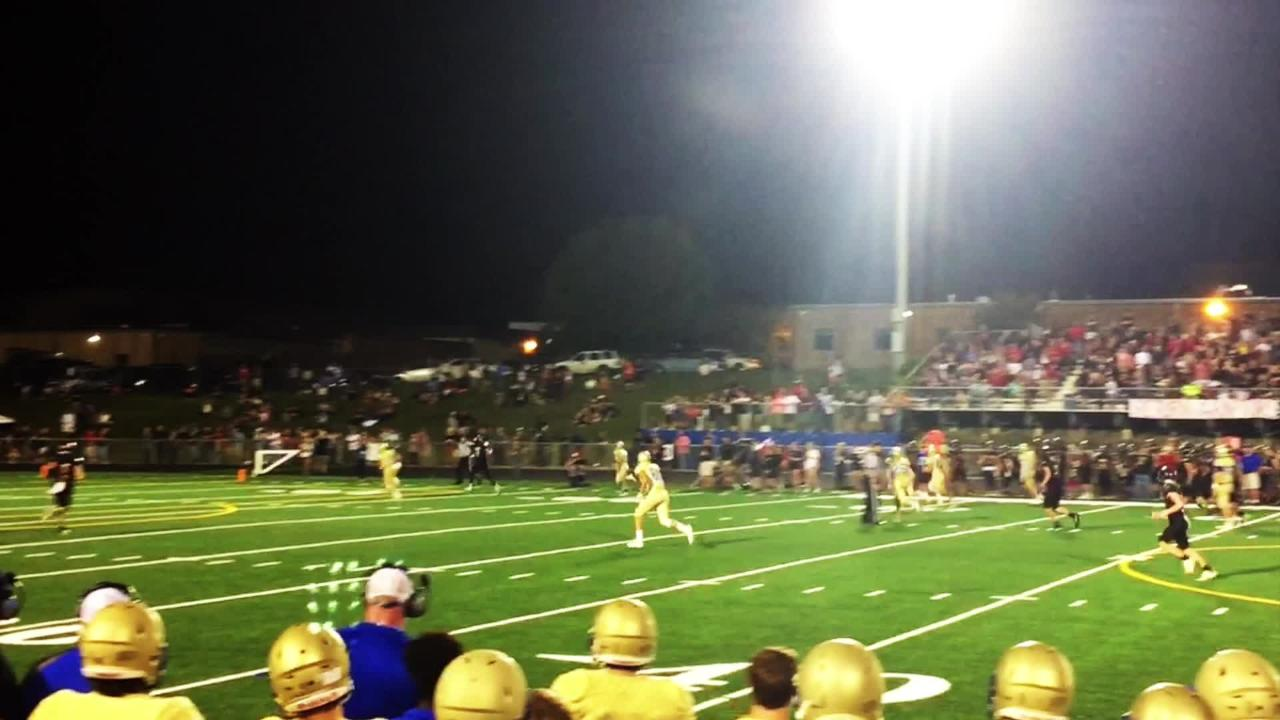 Ravenwood knocked off rival Brentwood 31-23 in Friday's 'Battle of the Woods' rivalry game.