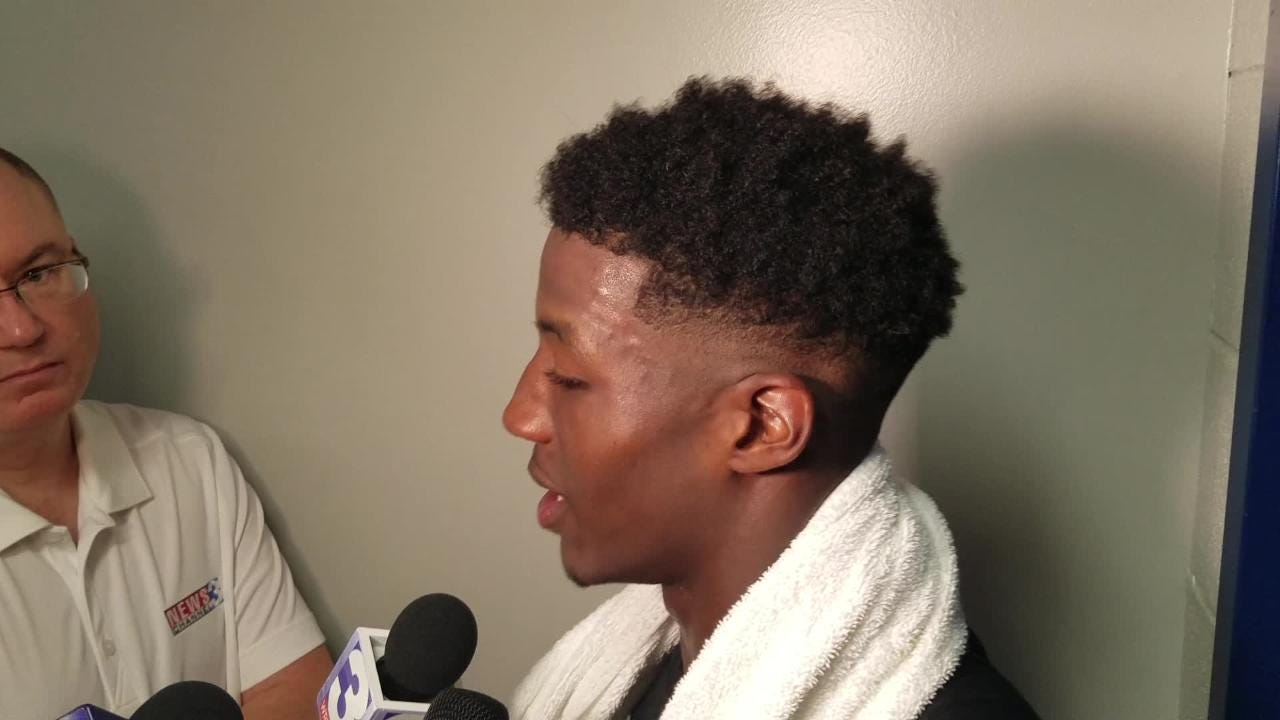 WR Anthony Miller discusses his huge performance vs. UCLA