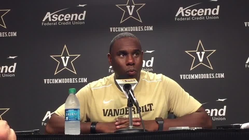 Vanderbilt coach Derek Mason tells why his veteran team knocked off No. 18 Kansas State.