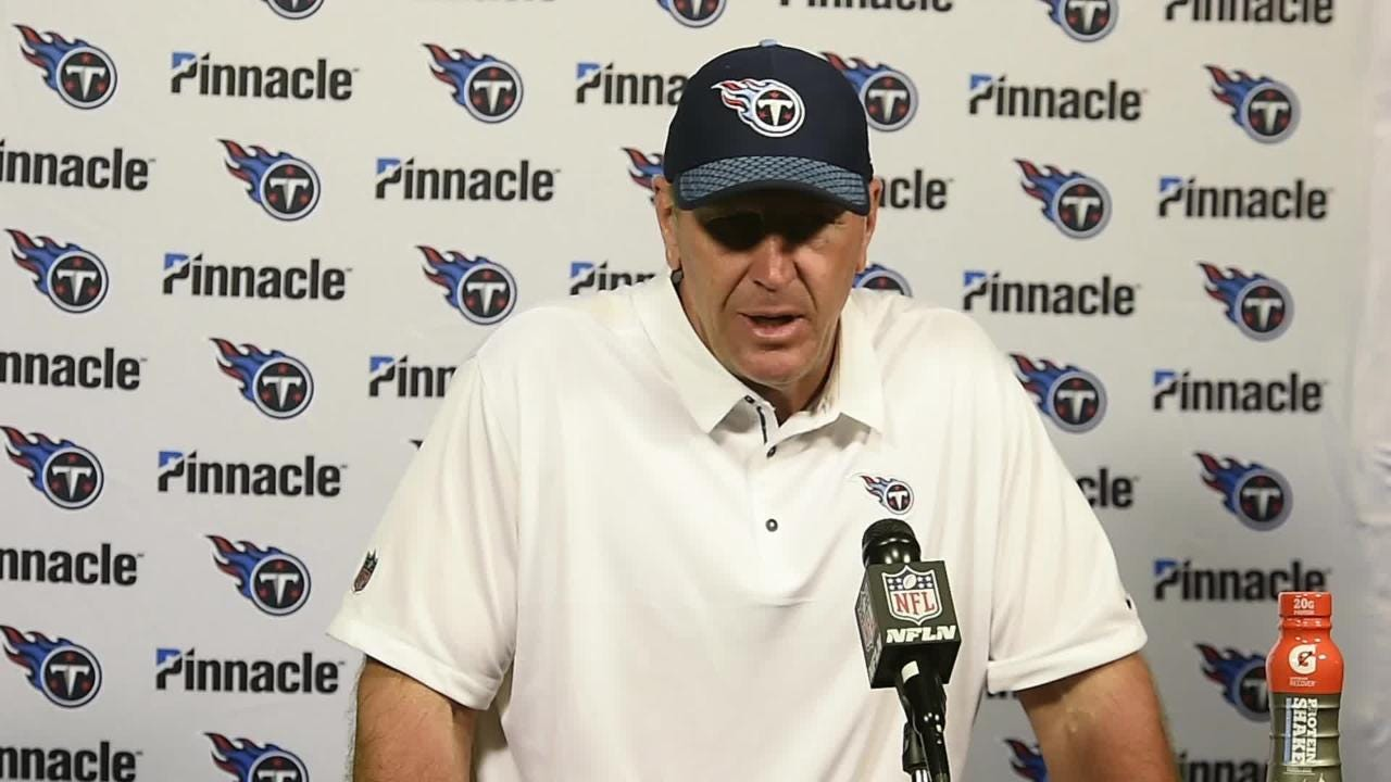 Tennessee Titans quarterback Marcus Mariota and head coach Mike Mularkey talk about their win 37 to 16 win over the Jaguars at EverBank Field.
