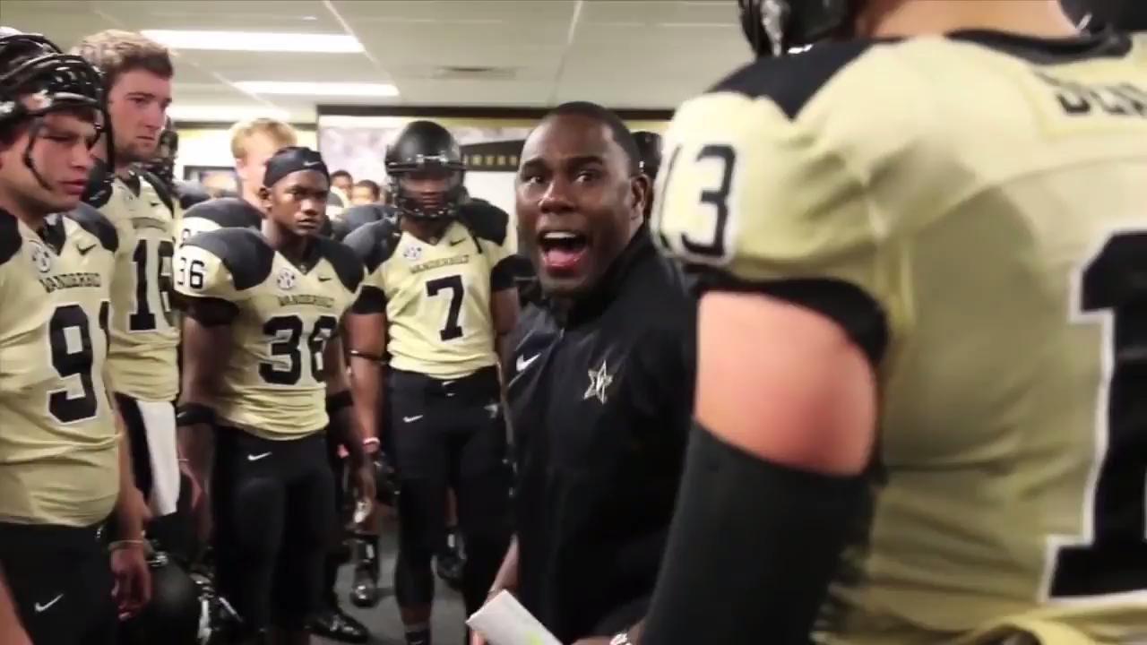 Vanderbilt football coach Derek Mason has started getting noticed for his pregame speeches.