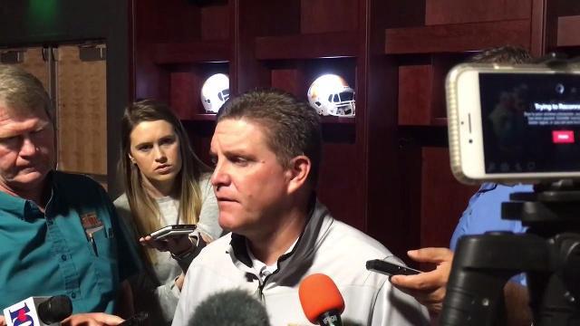 Vols defensive coordinator Bob Shoop breaks down ending of Florida game