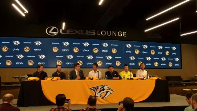 Nashville Predators name new captain