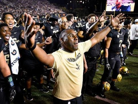 Can Vanderbilt upset No. 1 Alabama? History isn't on its side