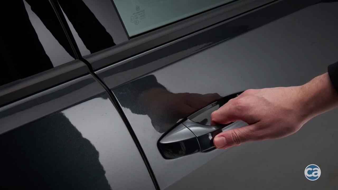 Unlocked cars make it easy