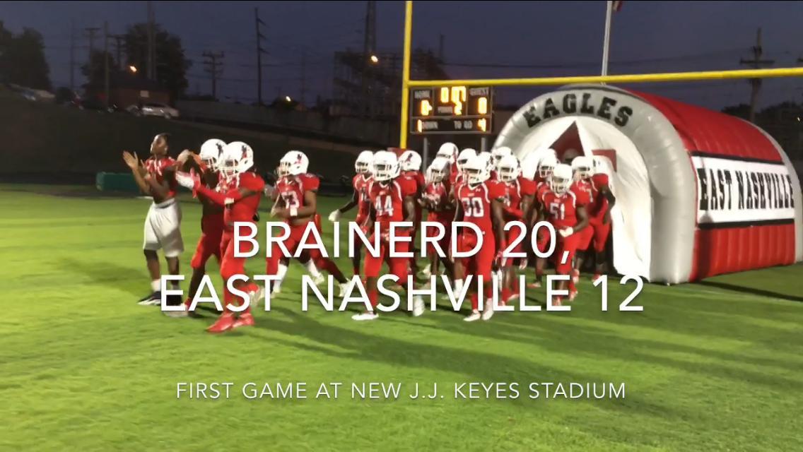 Friday night highlights; Brainerd 20, East Nashville 12