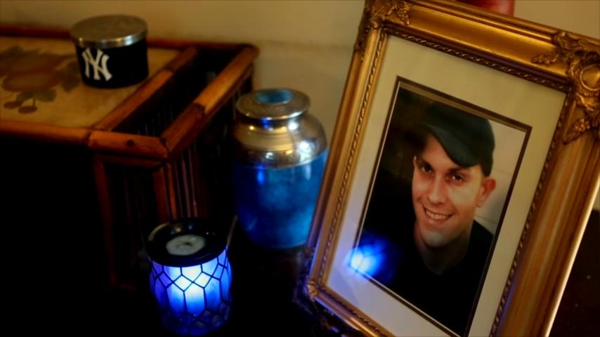 """Sue Goodrum's 33-year-old son, Corey """"Daniel"""" Brooks Goodrum, died from an overdose eighteen months ago in their home. His girlfriend, Haley High, 28, was accused of supplying the heroin that killed the father of three."""