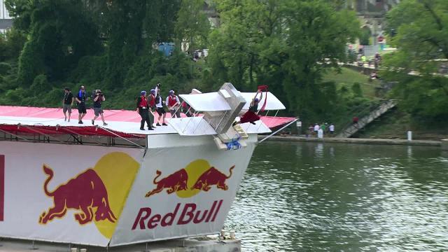 Redbull 'Flugtag' comes to Nashville