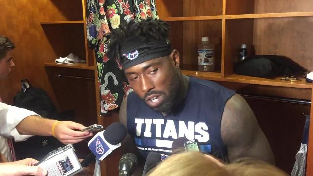 Delanie Walker 'melee' for Sherman hit was to protect Mariota
