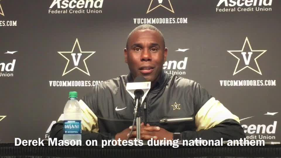 Derek Mason on protests during anthem