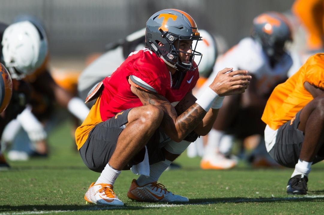 Tennessee Vols football practice Sept. 26