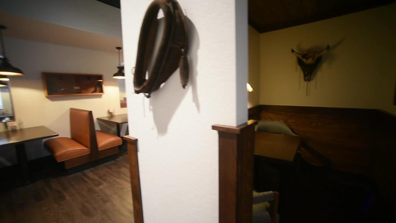 Take a look inside the rebuilt Alamo Steakhouse in Gatlinburg