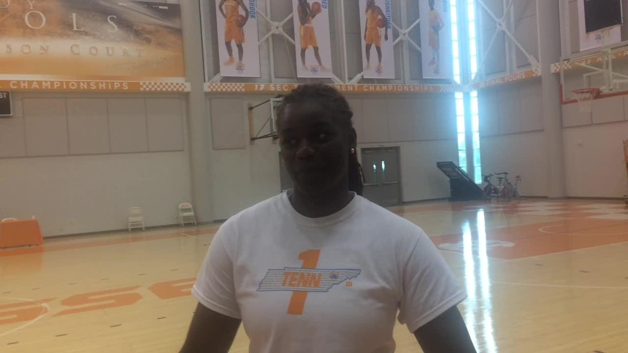 Lady Vol Green happy to be back
