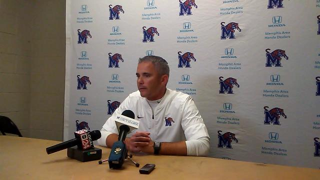 Mike Norvell on Memphis' win over UConn